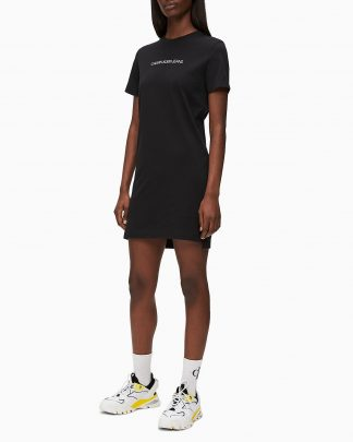 Calvin Klein Institutional T-shirt Dress Black