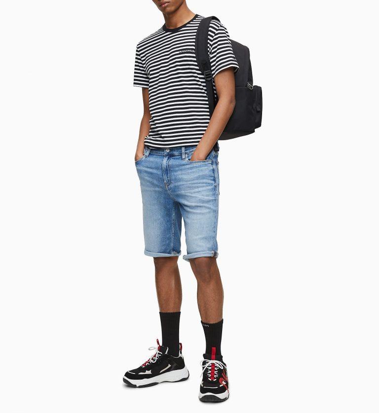 Calvin Klein Slim Shorts Light Blue