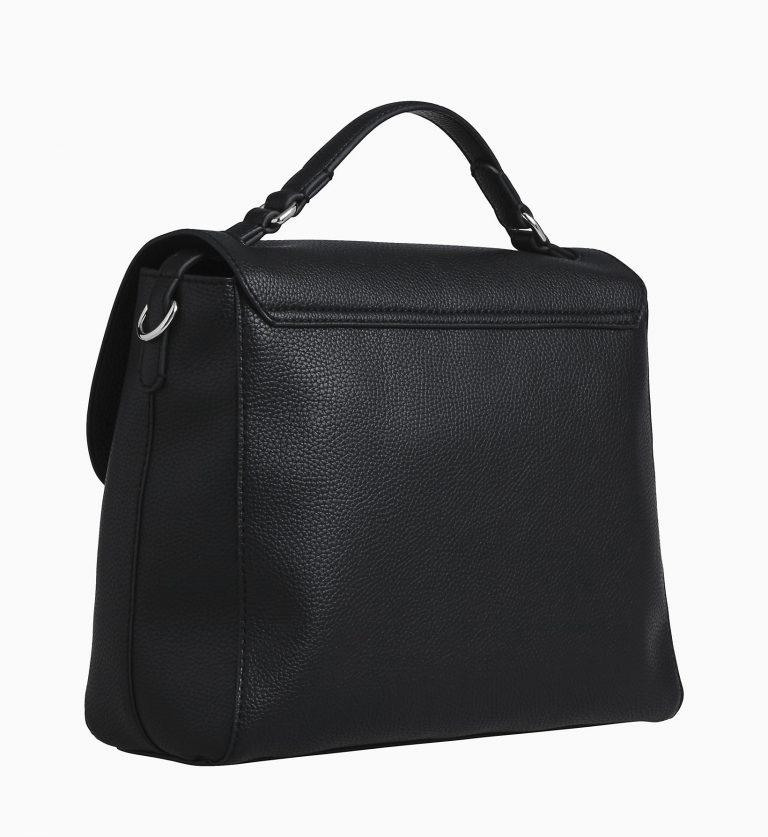Calvin Klein Ultra Light Flap Shoulder Bag Black