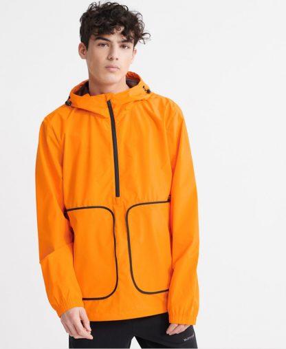 Superdry Packaway Overhead Jacket Vivid Marigold