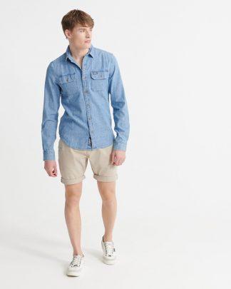 Superdry International Chino Shorts Sand