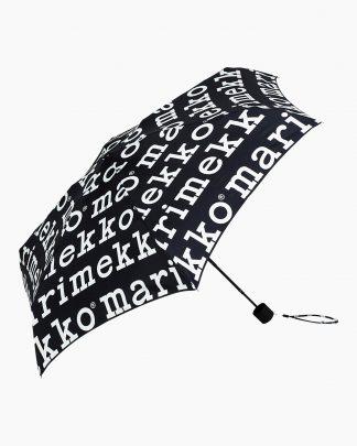 Marimekko Mini Marilogo Umbrella Black
