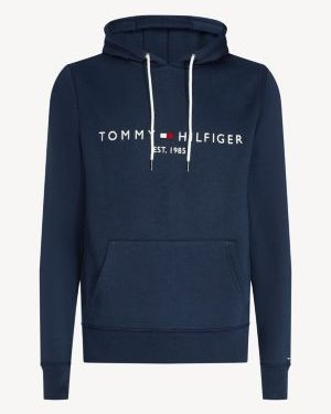 Tommy Hilfiger Logo Hoodie Navy