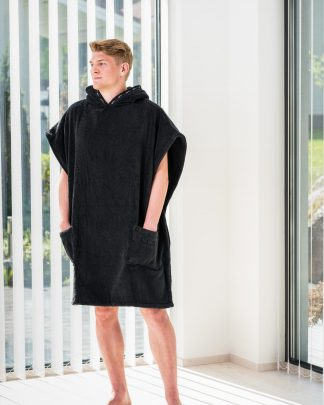 Luin Living Spa Poncho Grande Black