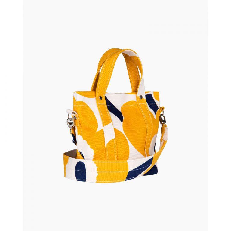 Marimekko Pikku Peruskassi Unikko Bag Yellow