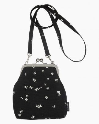 Marimekko Roosa Mariletters Bag Black
