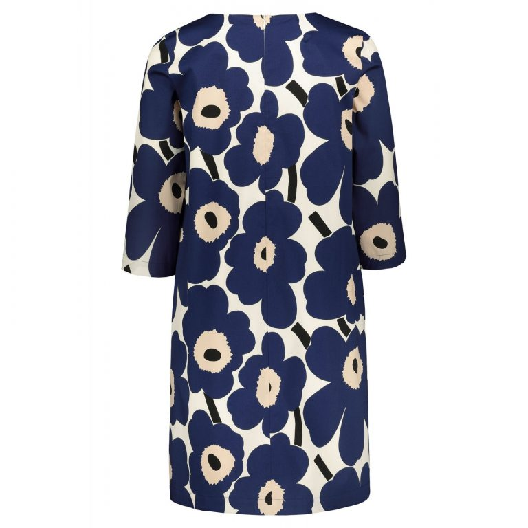 Marimekko Unelma Unikko Dress Blue