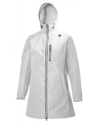 Helly Hansen Long Belfast Jacket White