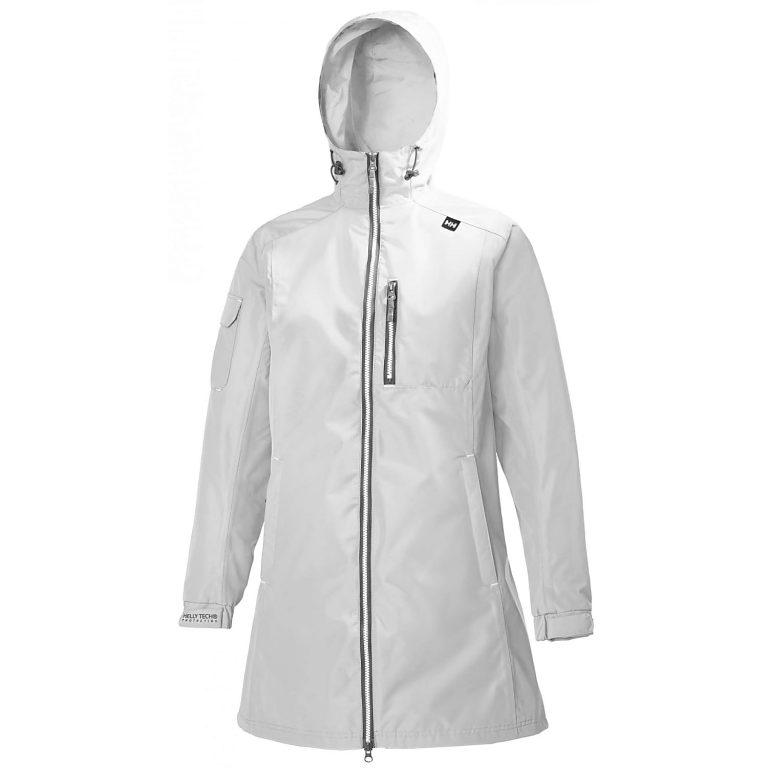 Helly Hansen Long Belfast Jacket White