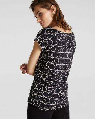 Esprit Graphic T-shirt Black