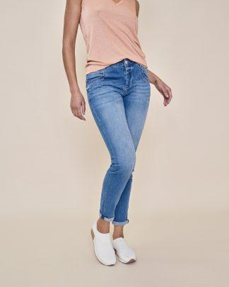 Mos Mosh Naomi Novel Jeans Blue