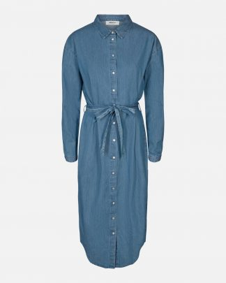 Moss Copenhagen Lyanna Shirt dress Midblue
