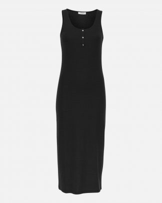 Moss Copenhagen Eireen Midi Dress Black