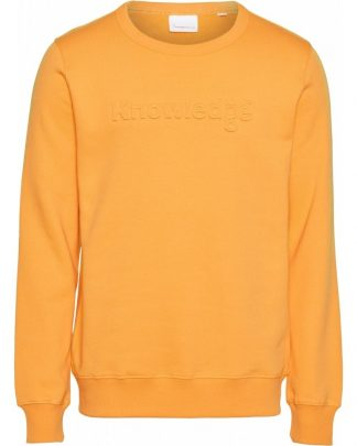 Knowledge Cotton Apparel Elm Sweater Yellow