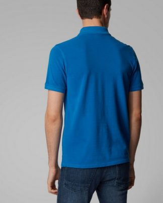 Hugo Boss Prime Jersey Shirt Blue