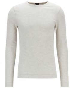 Hugo Boss Tempest Long-Sleeve T-Shirt Natural