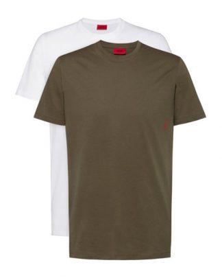 Hugo Boss 2-Pack T-shirts White/Green