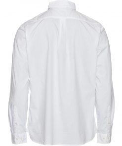Knowledge Cotton Apparel Larch Owl Shirt White