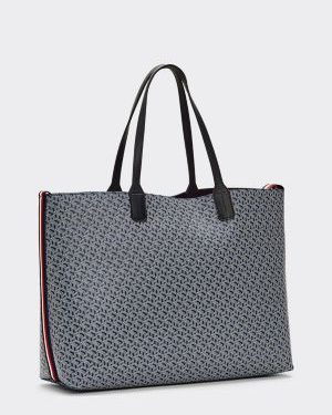 Tommy Hilfiger Iconic Tommy Tote Blue Ink