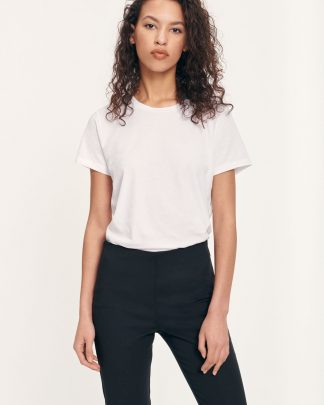 Samsoe & Samsoe Solly Tee Solid White