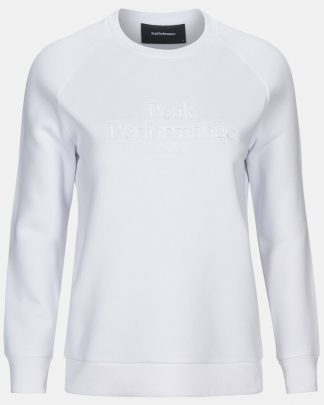 Peak Performance Original Crew Women White