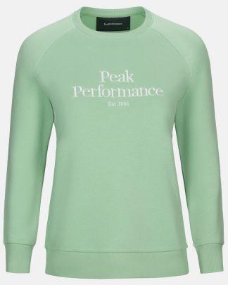Peak Performance Original Crew Women Pale Horizon