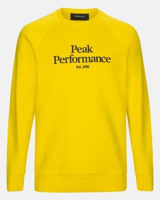 Peak Performance Original Crew Yellow