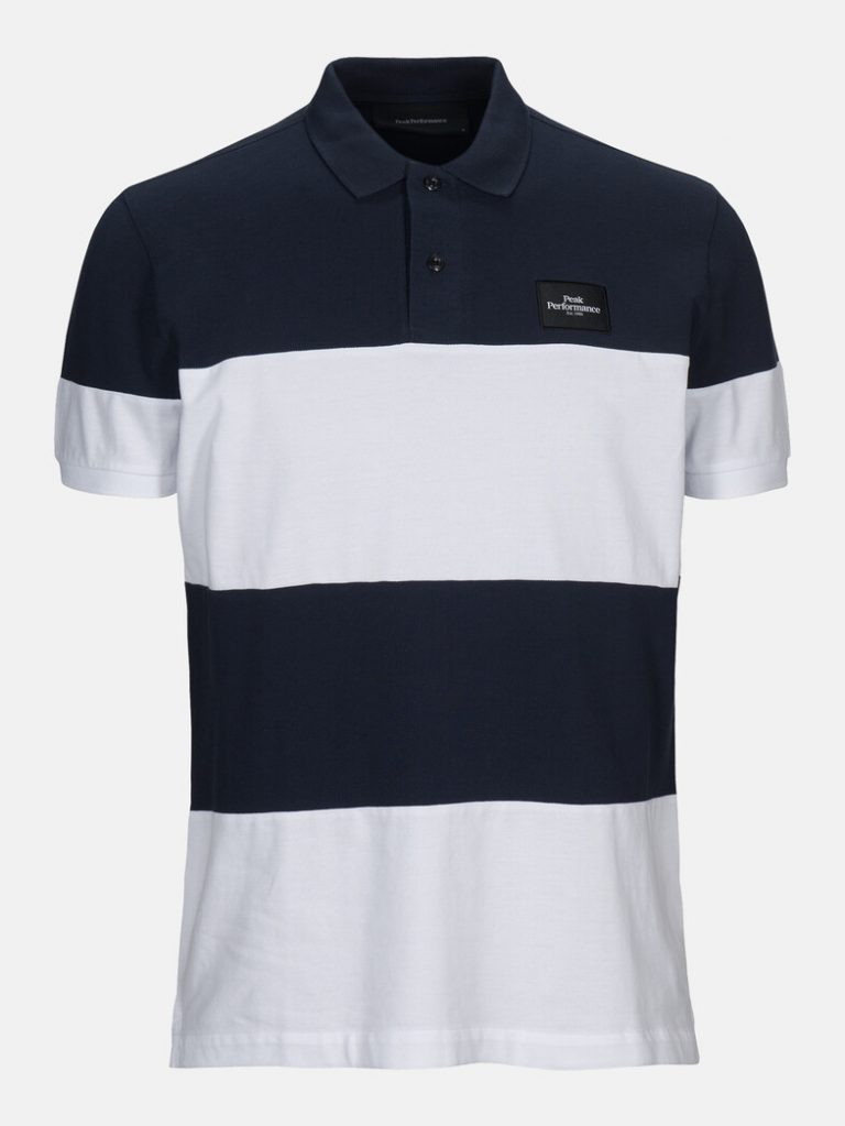 Peak Performance Original Block Polo Shirt White