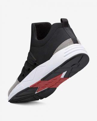 Arkk Copenhagen Raven Mesh Shoe Black
