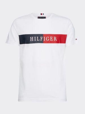 Tommy Hilfiger Block Stripe T-shirt White