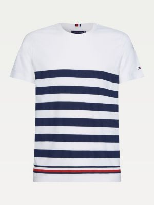 Tommy Hilfiger Bold Stripe T-Shirt Navy