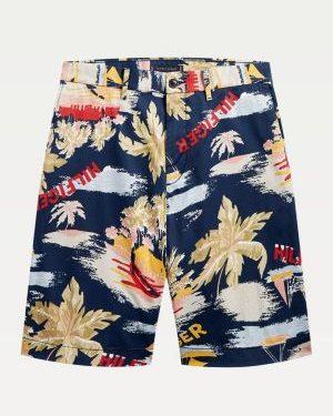 Tommy Hilfiger Brooklyn Hawaii Shorts Blue