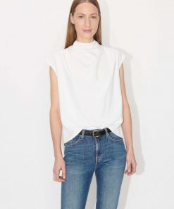 Tiger of Sweden Volona Top Off-white