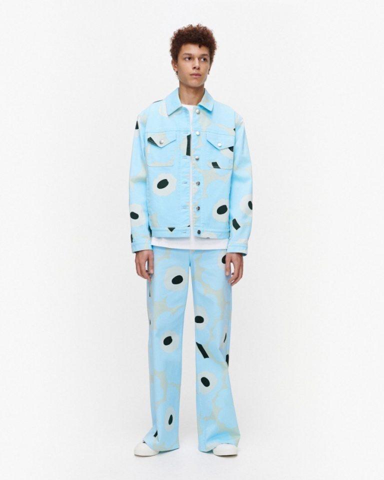 Marimekko Ranta Jacket Blue