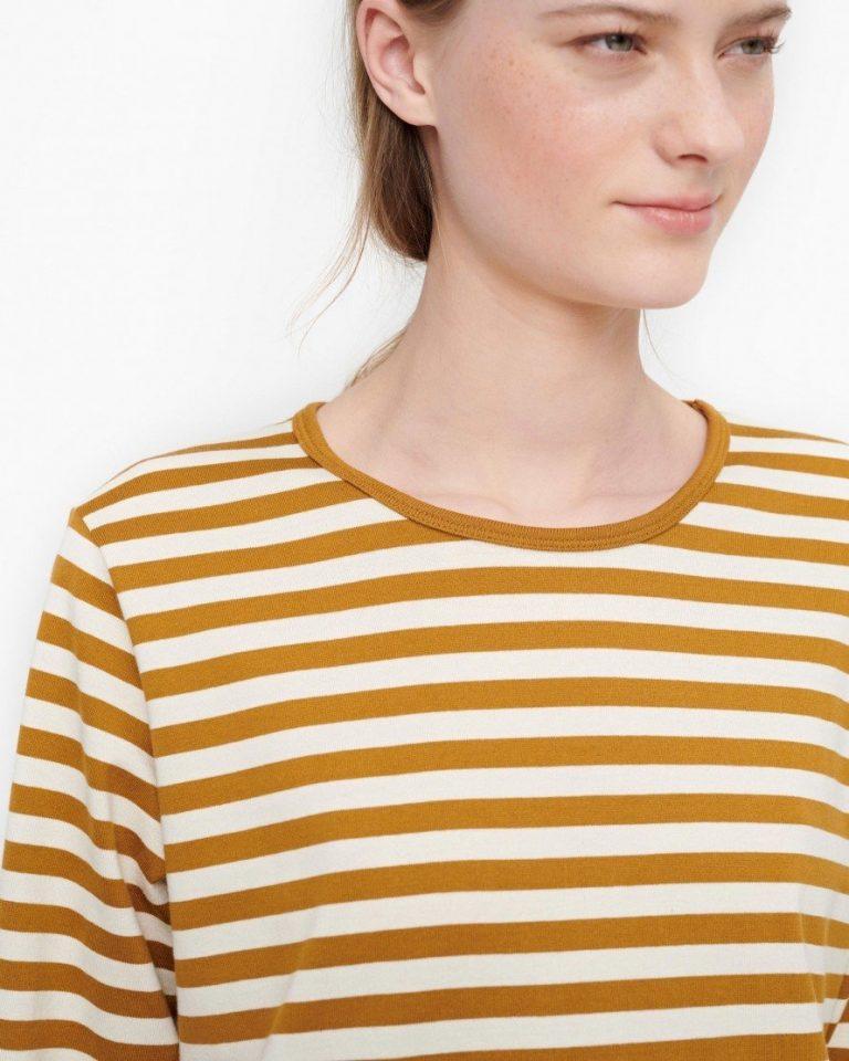 Marimekko Pitkähiha T-Shirt Ruskea