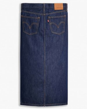 Levi's Button Front Midi Skirt Juniper Ridge
