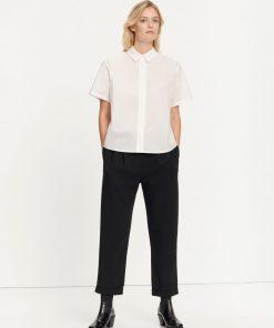 Samsoe & Samsoe Mina Ss Shirt White