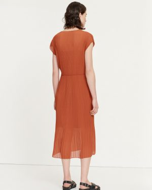 Samsoe & Samsoe Leola Long Dress Picante