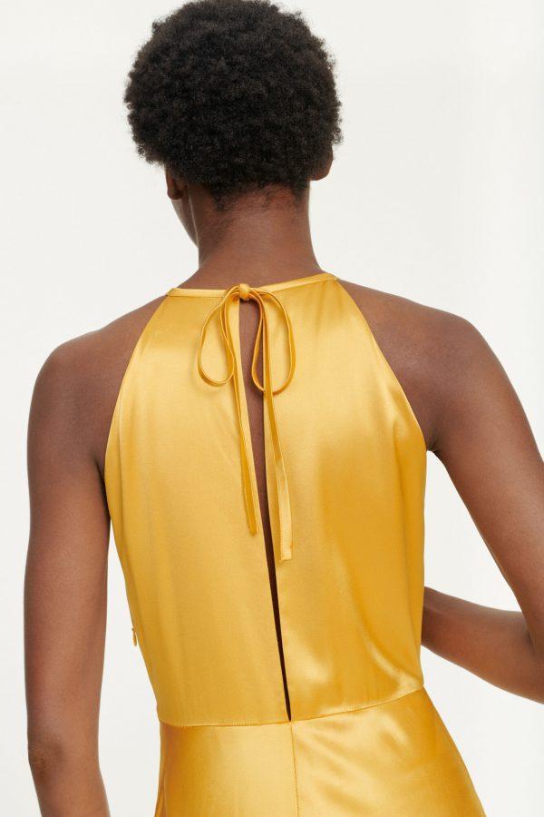 Samsoe & Samsoe Rhea Dress Mineral Yellow