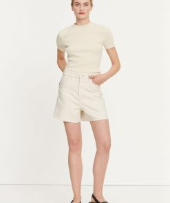 Samsoe & Samsoe Joan T-shirt Warm White