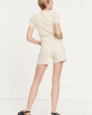 Samsoe & Samsoe Joan T-shirt Warm White