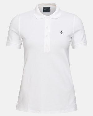 Peak Performance Polo Shirt White