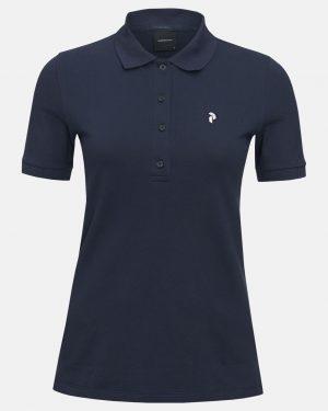 Peak Performance Polo Shirt Blue Shadow