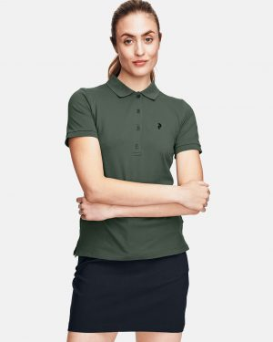 Peak Performance Polo Shirt Alpin Green