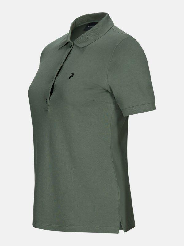 Peak Performance Polo Shirt Alpin Green