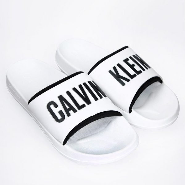 Calvin Klein Pool Slide White