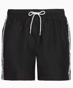 Calvin Klein Drawstring Swim Shorts Black
