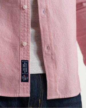 Superdry Classic University Oxford Shirt Coral