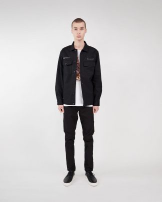 Makia x Von Wright Caught Overshirt Black