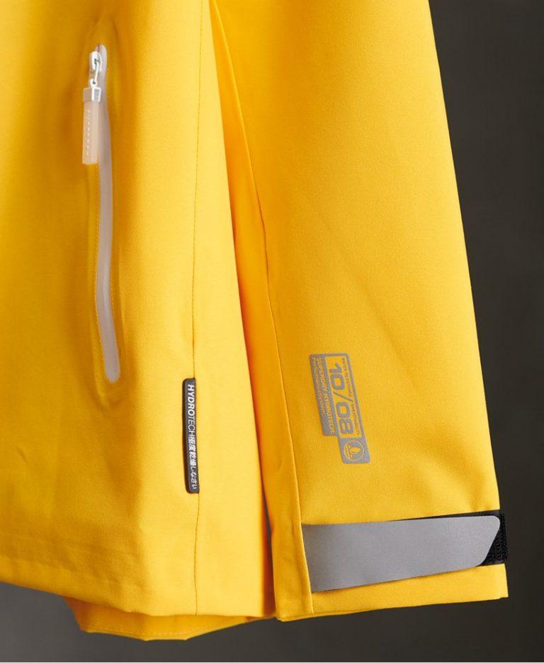 Superdry Essentials Harpa Waterproof Jacket Springs Yellow